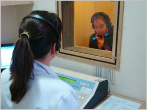Exame audição em Curitiba
